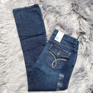NWT Embellished Calvin Klein Slim Fit Jeans sz 6